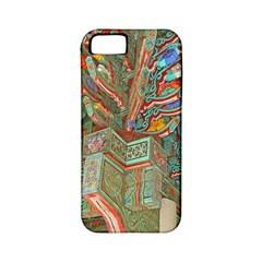 Traditional Korean Painted Paterns Apple iPhone 5 Classic Hardshell Case (PC+Silicone)