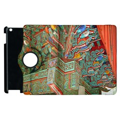 Traditional Korean Painted Paterns Apple iPad 2 Flip 360 Case