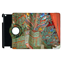 Traditional Korean Painted Paterns Apple iPad 3/4 Flip 360 Case