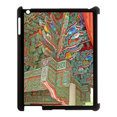 Traditional Korean Painted Paterns Apple iPad 3/4 Case (Black)
