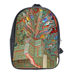 Traditional Korean Painted Paterns School Bags (XL)