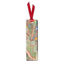 Traditional Korean Painted Paterns Small Book Marks