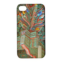 Traditional Korean Painted Paterns Apple iPhone 4/4S Hardshell Case with Stand