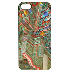 Traditional Korean Painted Paterns Apple iPhone 5 Hardshell Case with Stand