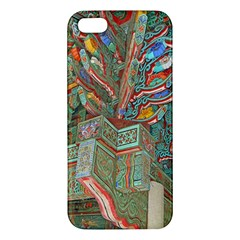 Traditional Korean Painted Paterns Apple iPhone 5 Premium Hardshell Case