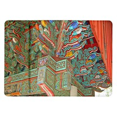 Traditional Korean Painted Paterns Samsung Galaxy Tab 10.1  P7500 Flip Case
