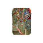Traditional Korean Painted Paterns Apple iPad Mini Protective Soft Cases Front