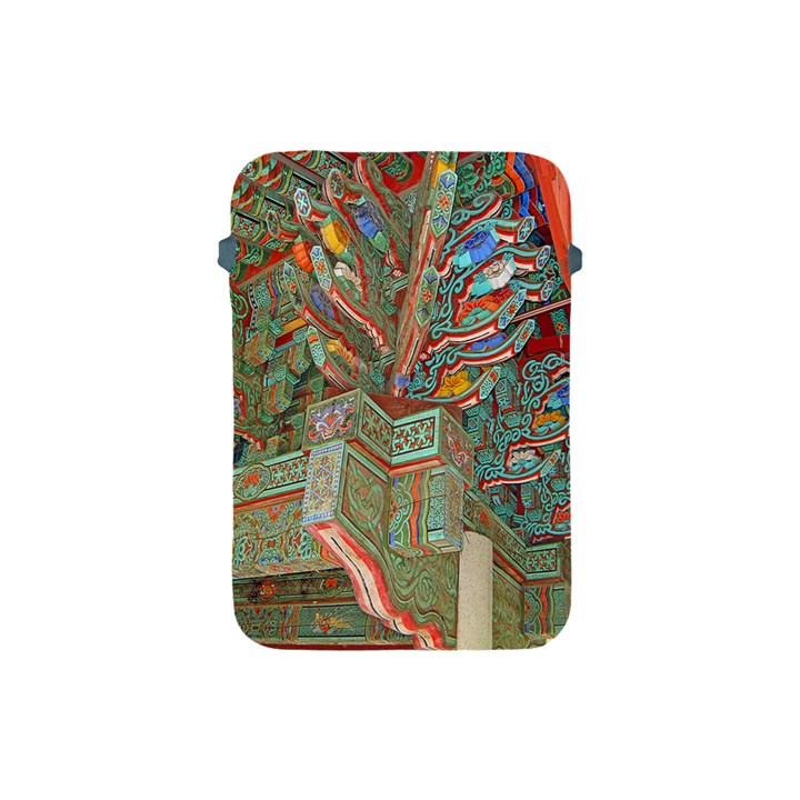 Traditional Korean Painted Paterns Apple iPad Mini Protective Soft Cases