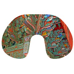 Traditional Korean Painted Paterns Travel Neck Pillows