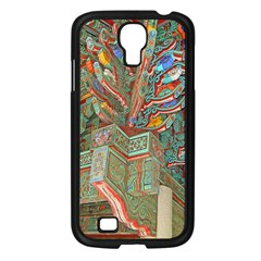 Traditional Korean Painted Paterns Samsung Galaxy S4 I9500/ I9505 Case (Black)