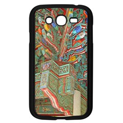 Traditional Korean Painted Paterns Samsung Galaxy Grand DUOS I9082 Case (Black)