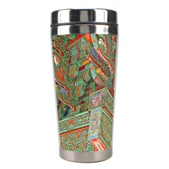 Traditional Korean Painted Paterns Stainless Steel Travel Tumblers