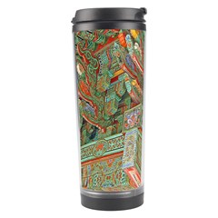 Traditional Korean Painted Paterns Travel Tumbler