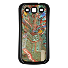 Traditional Korean Painted Paterns Samsung Galaxy S3 Back Case (Black)