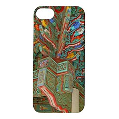 Traditional Korean Painted Paterns Apple iPhone 5S/ SE Hardshell Case