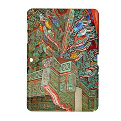 Traditional Korean Painted Paterns Samsung Galaxy Tab 2 (10.1 ) P5100 Hardshell Case