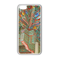 Traditional Korean Painted Paterns Apple iPhone 5C Seamless Case (White)