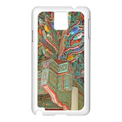 Traditional Korean Painted Paterns Samsung Galaxy Note 3 N9005 Case (White)