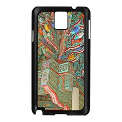 Traditional Korean Painted Paterns Samsung Galaxy Note 3 N9005 Case (Black)