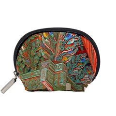 Traditional Korean Painted Paterns Accessory Pouches (Small)