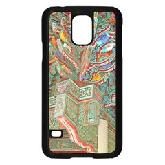 Traditional Korean Painted Paterns Samsung Galaxy S5 Case (Black)