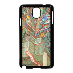 Traditional Korean Painted Paterns Samsung Galaxy Note 3 Neo Hardshell Case (Black)