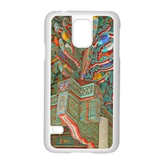 Traditional Korean Painted Paterns Samsung Galaxy S5 Case (White)