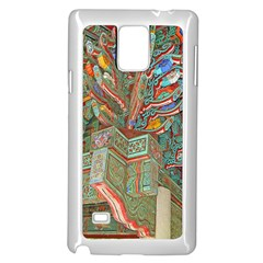 Traditional Korean Painted Paterns Samsung Galaxy Note 4 Case (White)