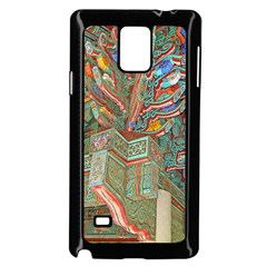 Traditional Korean Painted Paterns Samsung Galaxy Note 4 Case (Black)