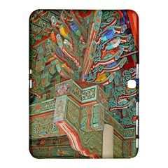 Traditional Korean Painted Paterns Samsung Galaxy Tab 4 (10.1 ) Hardshell Case