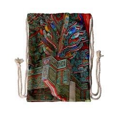 Traditional Korean Painted Paterns Drawstring Bag (Small)