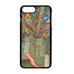 Traditional Korean Painted Paterns Apple iPhone 7 Plus Seamless Case (Black)