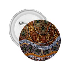 Aboriginal Traditional Pattern 2.25  Buttons