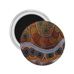Aboriginal Traditional Pattern 2.25  Magnets