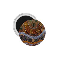 Aboriginal Traditional Pattern 1.75  Magnets