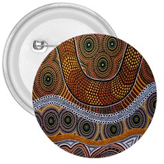 Aboriginal Traditional Pattern 3  Buttons