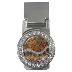 Aboriginal Traditional Pattern Money Clips (CZ)