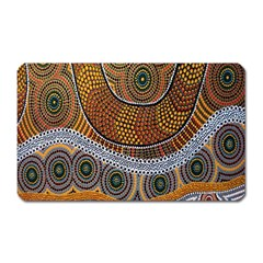 Aboriginal Traditional Pattern Magnet (Rectangular)