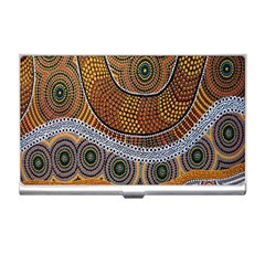 Aboriginal Traditional Pattern Business Card Holders