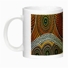 Aboriginal Traditional Pattern Night Luminous Mugs