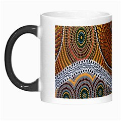 Aboriginal Traditional Pattern Morph Mugs