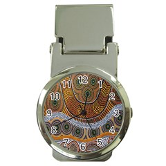 Aboriginal Traditional Pattern Money Clip Watches