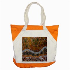 Aboriginal Traditional Pattern Accent Tote Bag