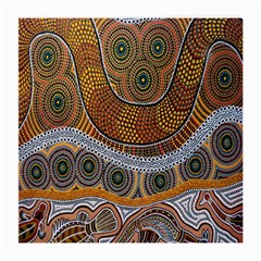 Aboriginal Traditional Pattern Medium Glasses Cloth (2-Side)