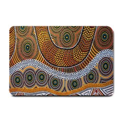 Aboriginal Traditional Pattern Small Doormat