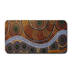 Aboriginal Traditional Pattern Medium Bar Mats