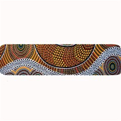 Aboriginal Traditional Pattern Large Bar Mats