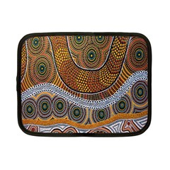 Aboriginal Traditional Pattern Netbook Case (Small)