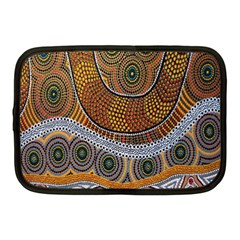 Aboriginal Traditional Pattern Netbook Case (Medium)