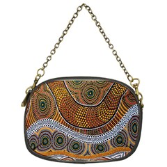 Aboriginal Traditional Pattern Chain Purses (One Side)